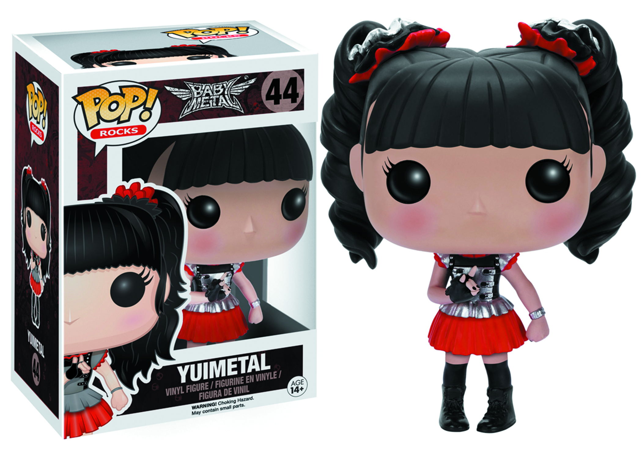 POP BABYMETAL YUIMETAL VINYL FIG