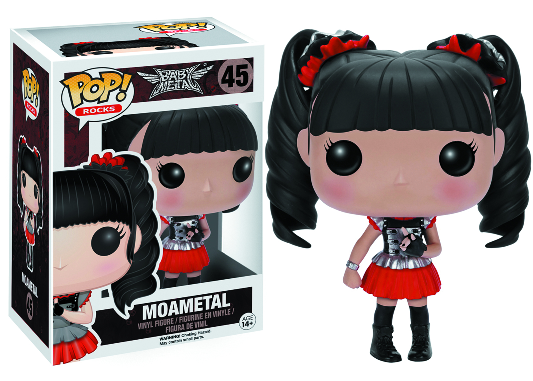 POP BABYMETAL MOAMETAL VINYL FIG