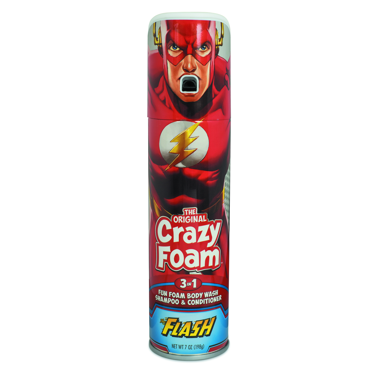 JUSTICE LEAGUE THE FLASH CRAZY FOAM