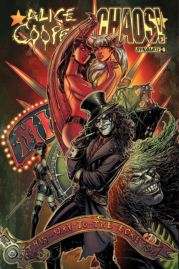 ALICE COOPER VS CHAOS #6