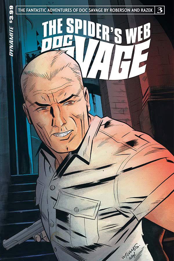 DOC SAVAGE SPIDERS WEB #3 CVR A TORRES