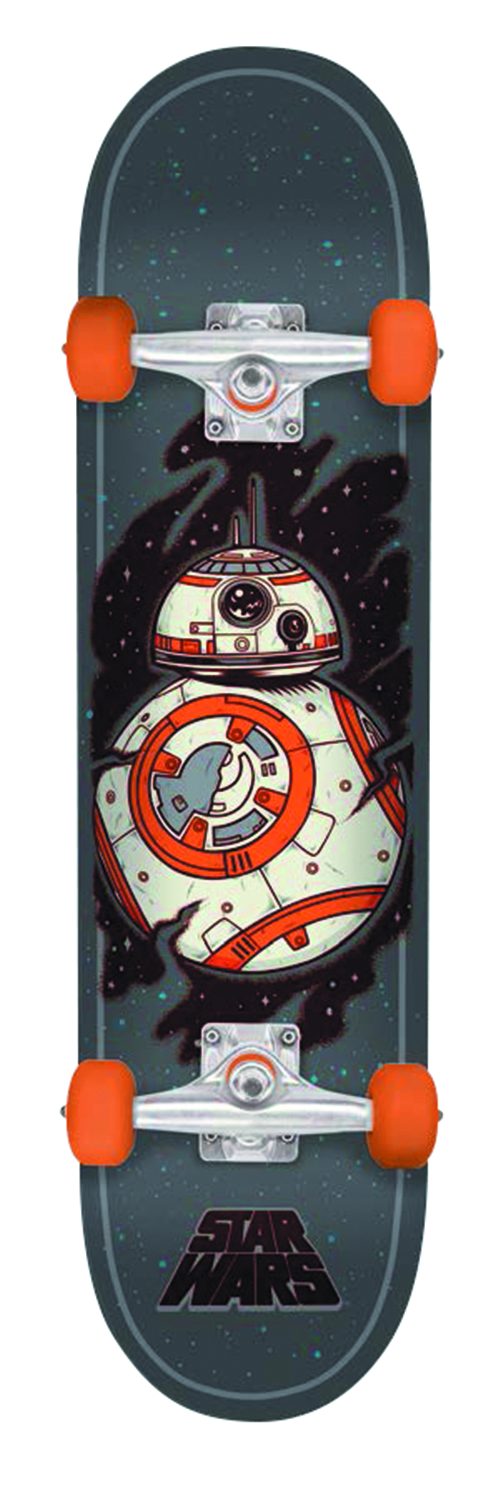 STAR WARS E7 BB8 REGULAR SK8 COMPLETE