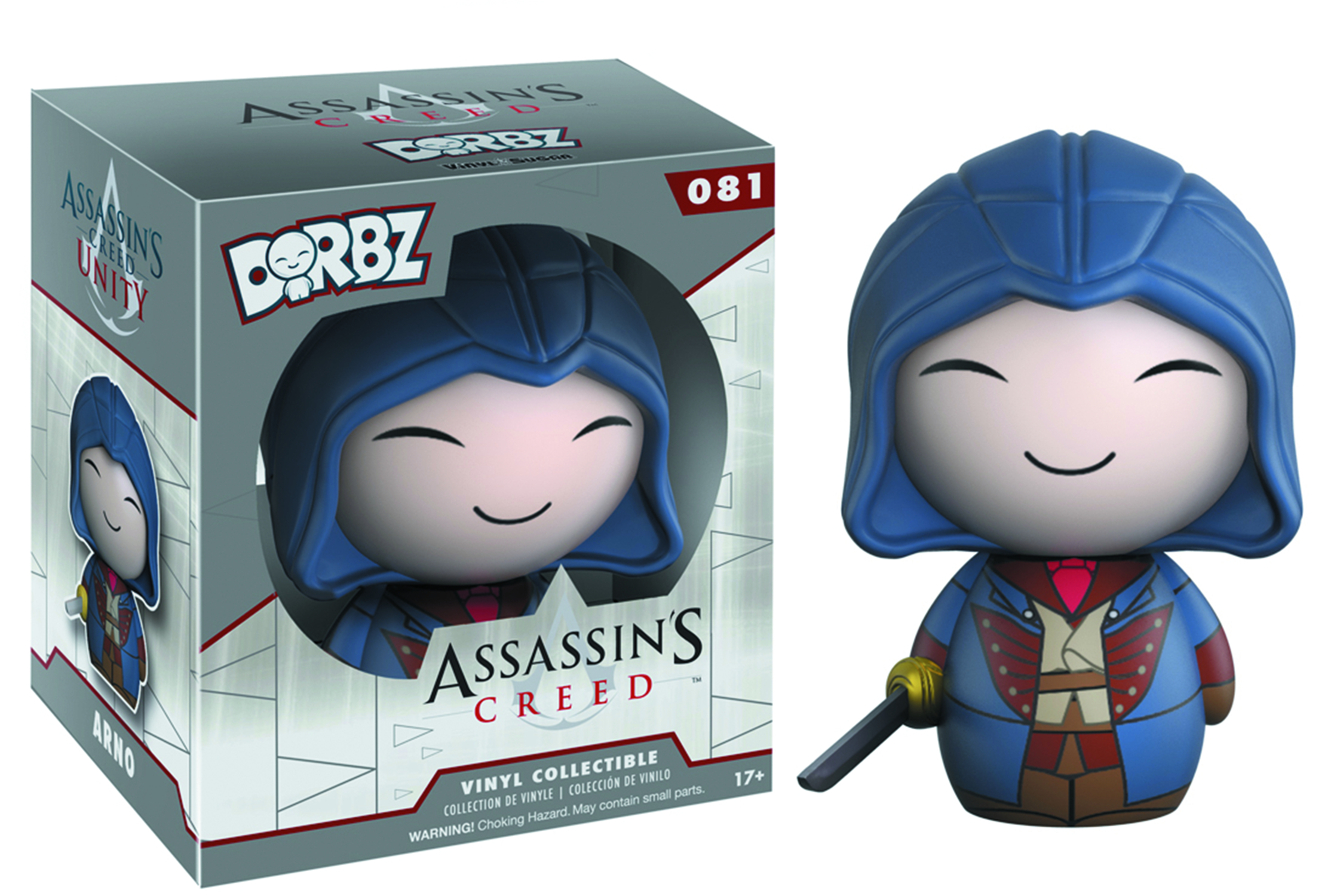 DORBZ ASSASSINS CREED ARNO VINYL FIG