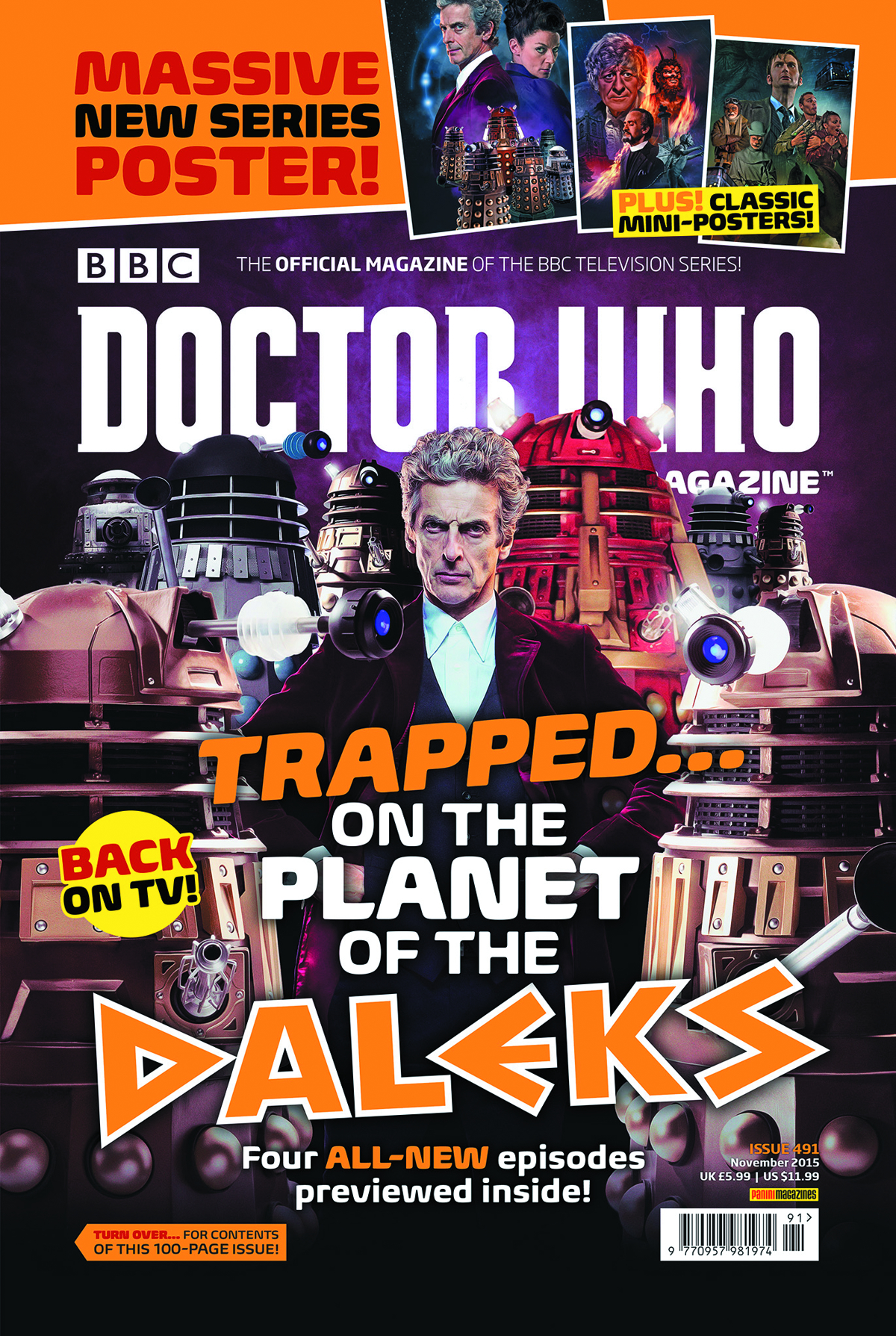 DOCTOR WHO MAGAZINE #496