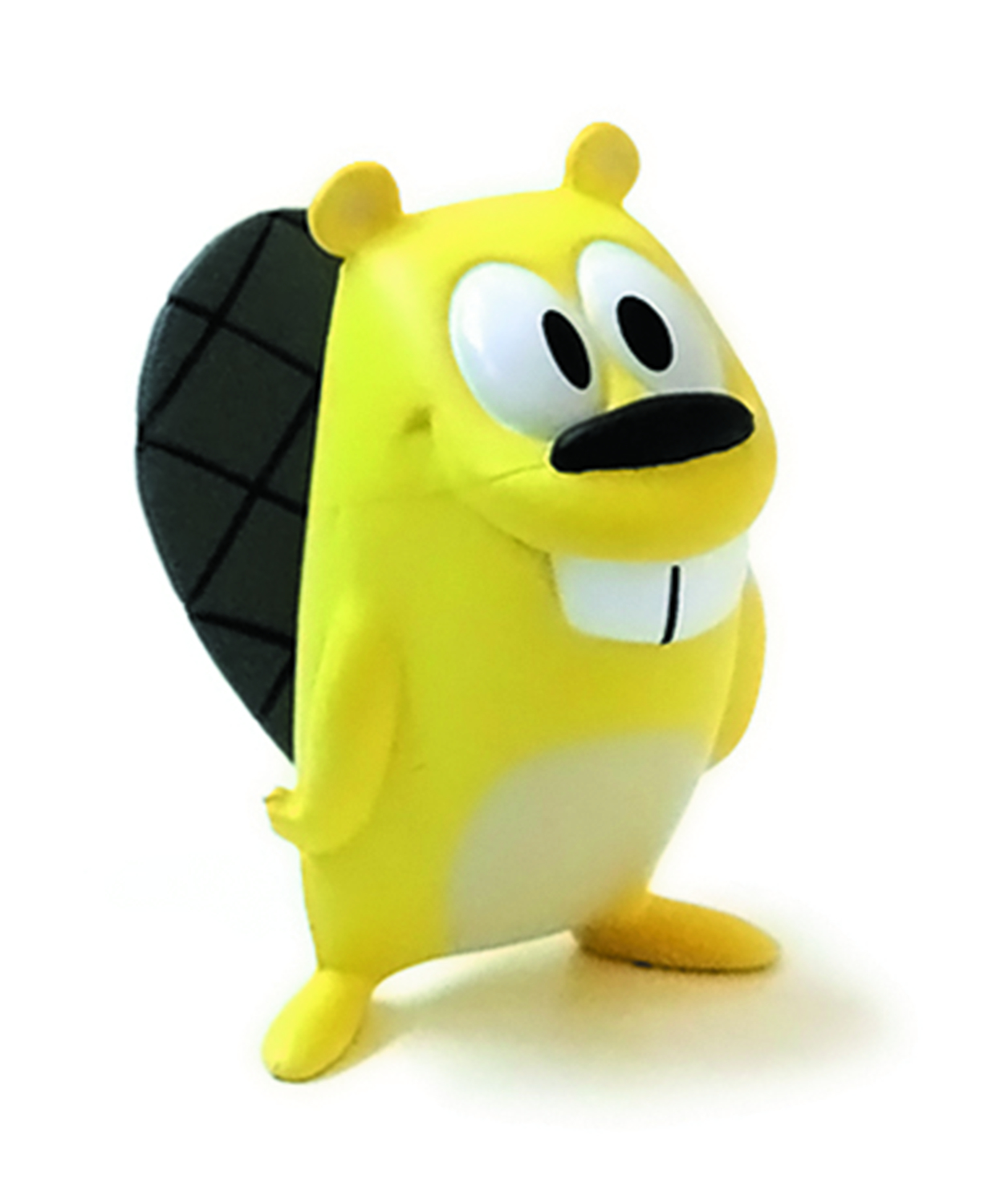 GET LUCKY BEAVER YELLOW 1.5IN VINYL FIG