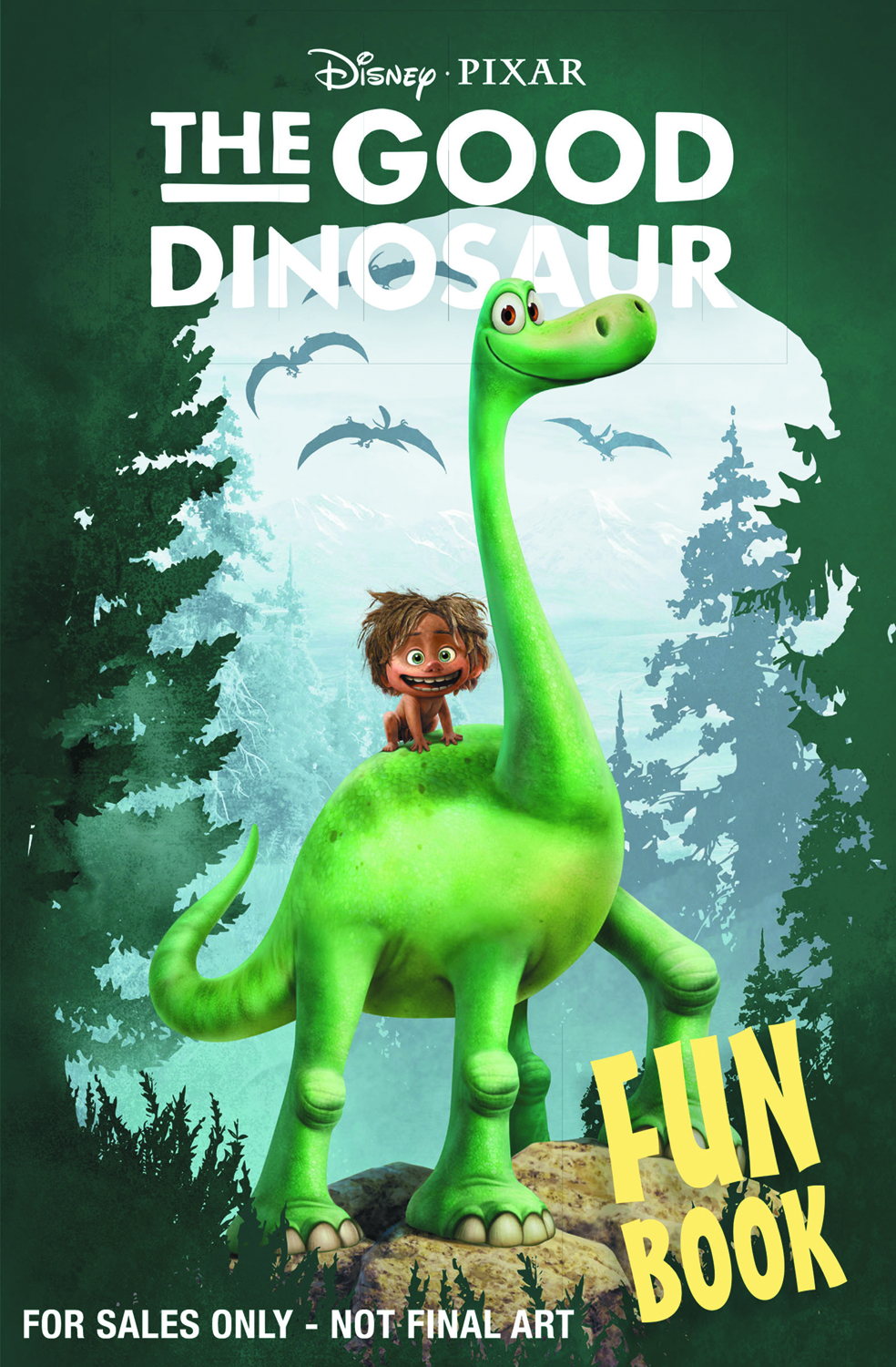 DISNEY PIXAR GOOD DINOSAUR FUN BOOK TP