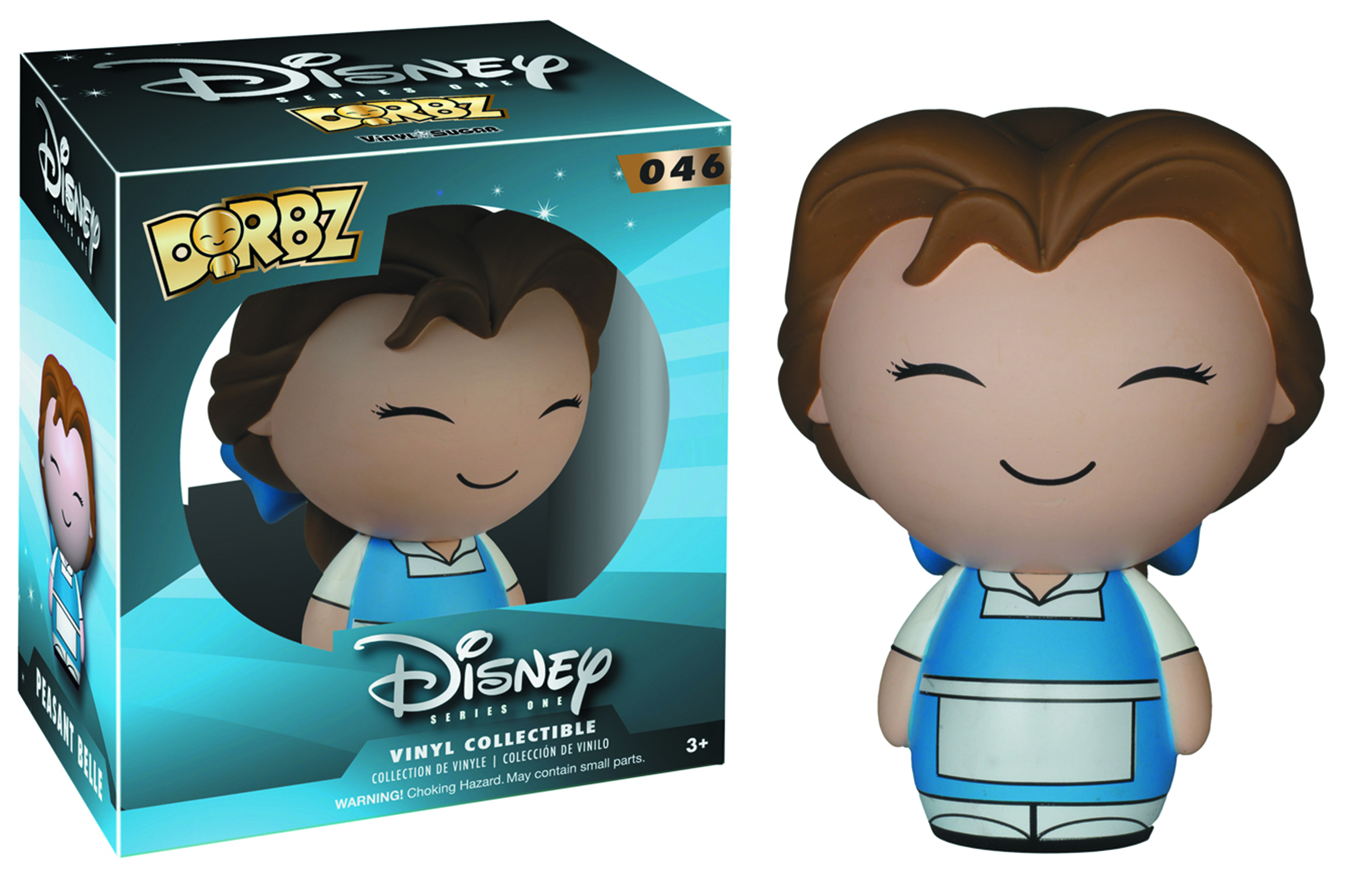 DORBZ DISNEY PEASANT BELLE VINYL FIG