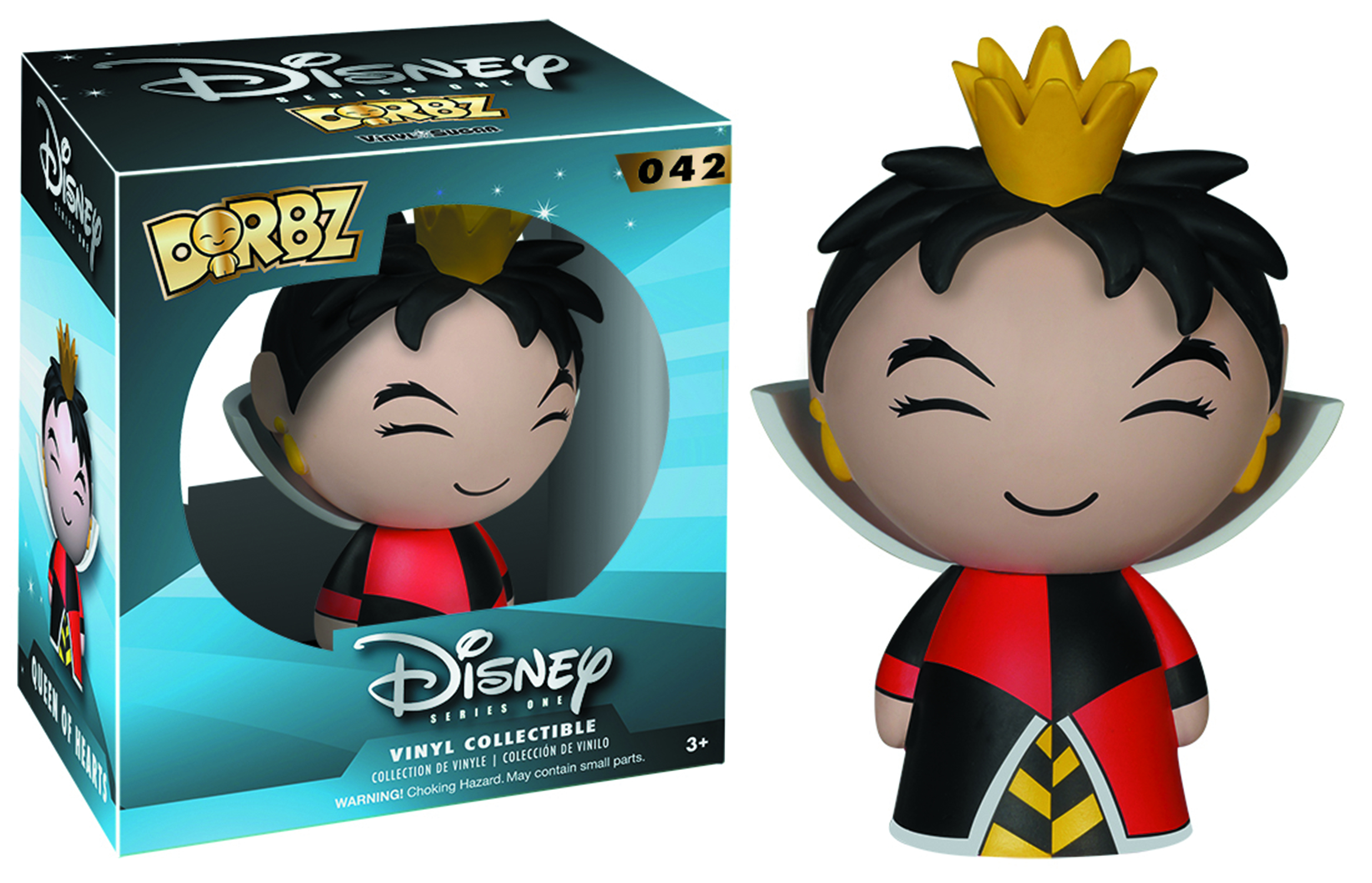 DORBZ DISNEY QUEEN OF HEARTS VINYL FIG