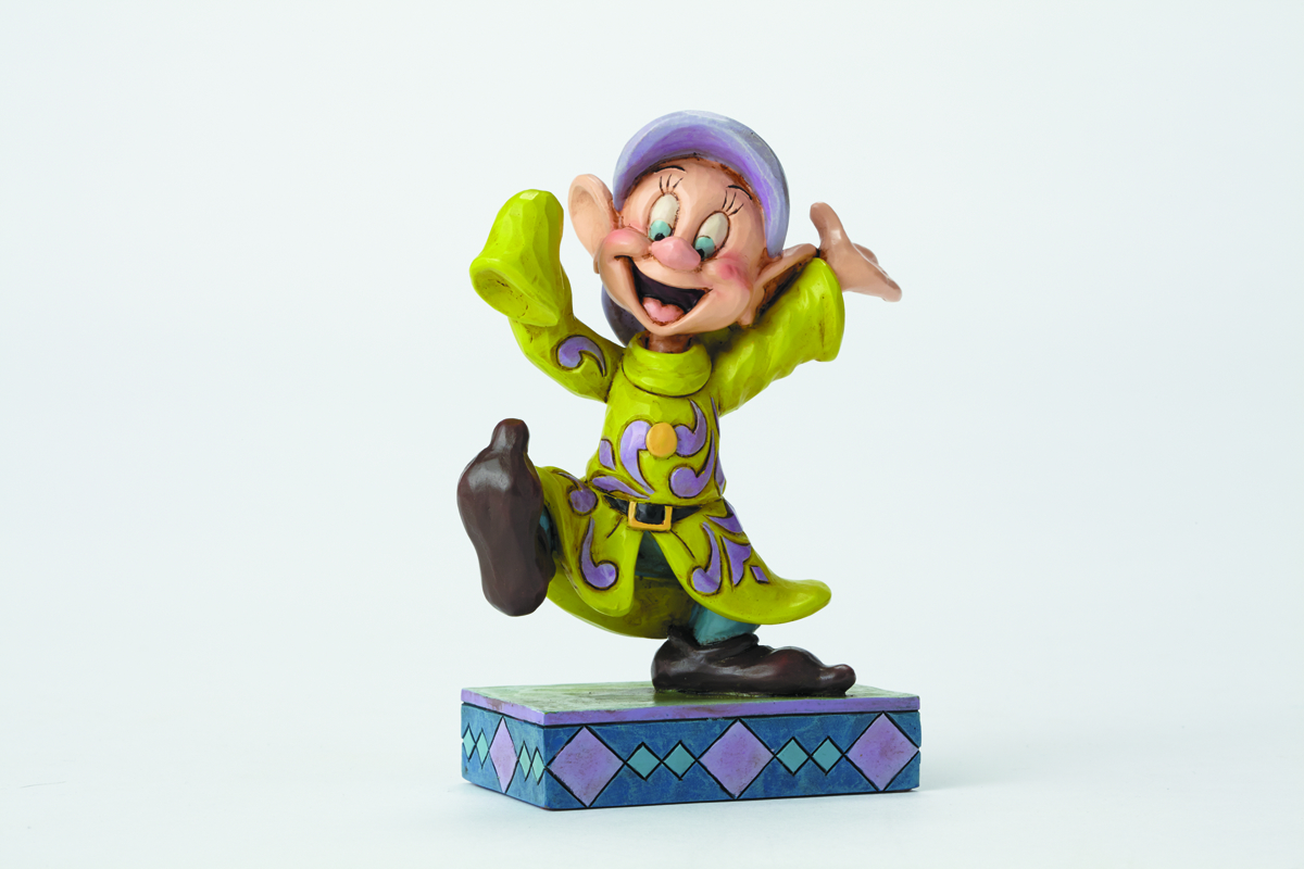 DISNEY TRADITIONS SNOW WHITE DOPEY FIG