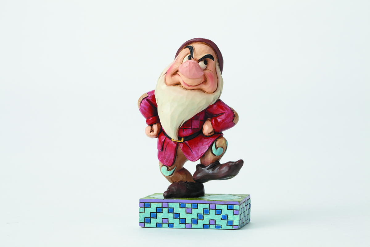 DISNEY TRADITIONS SNOW WHITE GRUMPY FIG