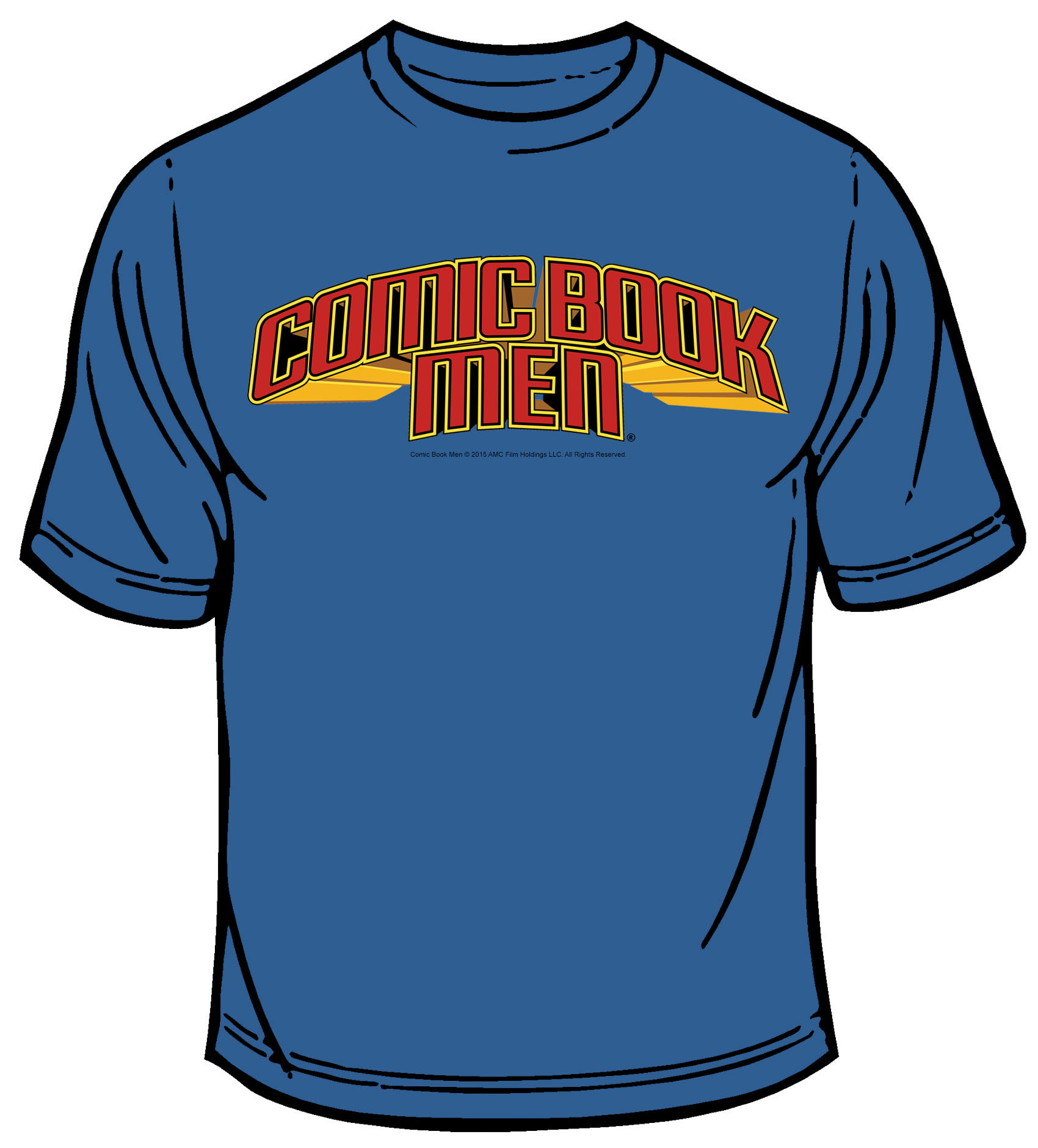 COMIC BOOK MEN LOGO T/S MED