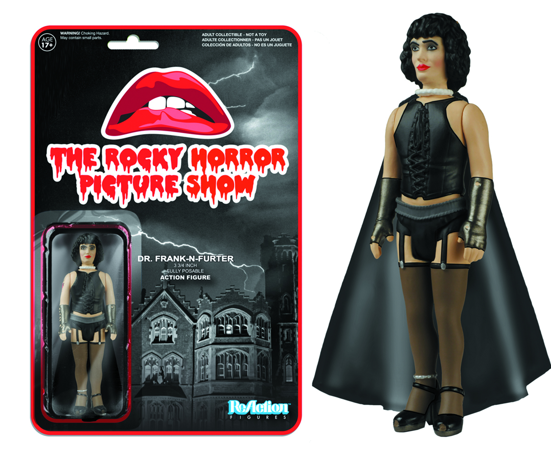 REACTION ROCKY HORROR FRANK N FURTER FIG