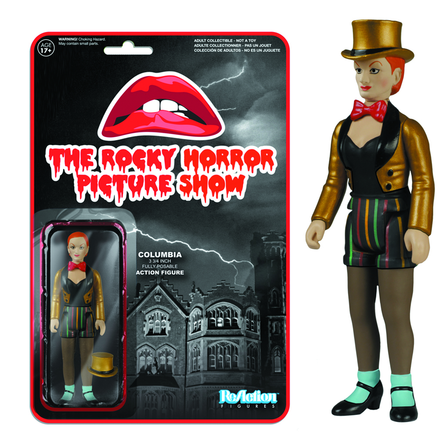 REACTION ROCKY HORROR COLUMBIA FIG