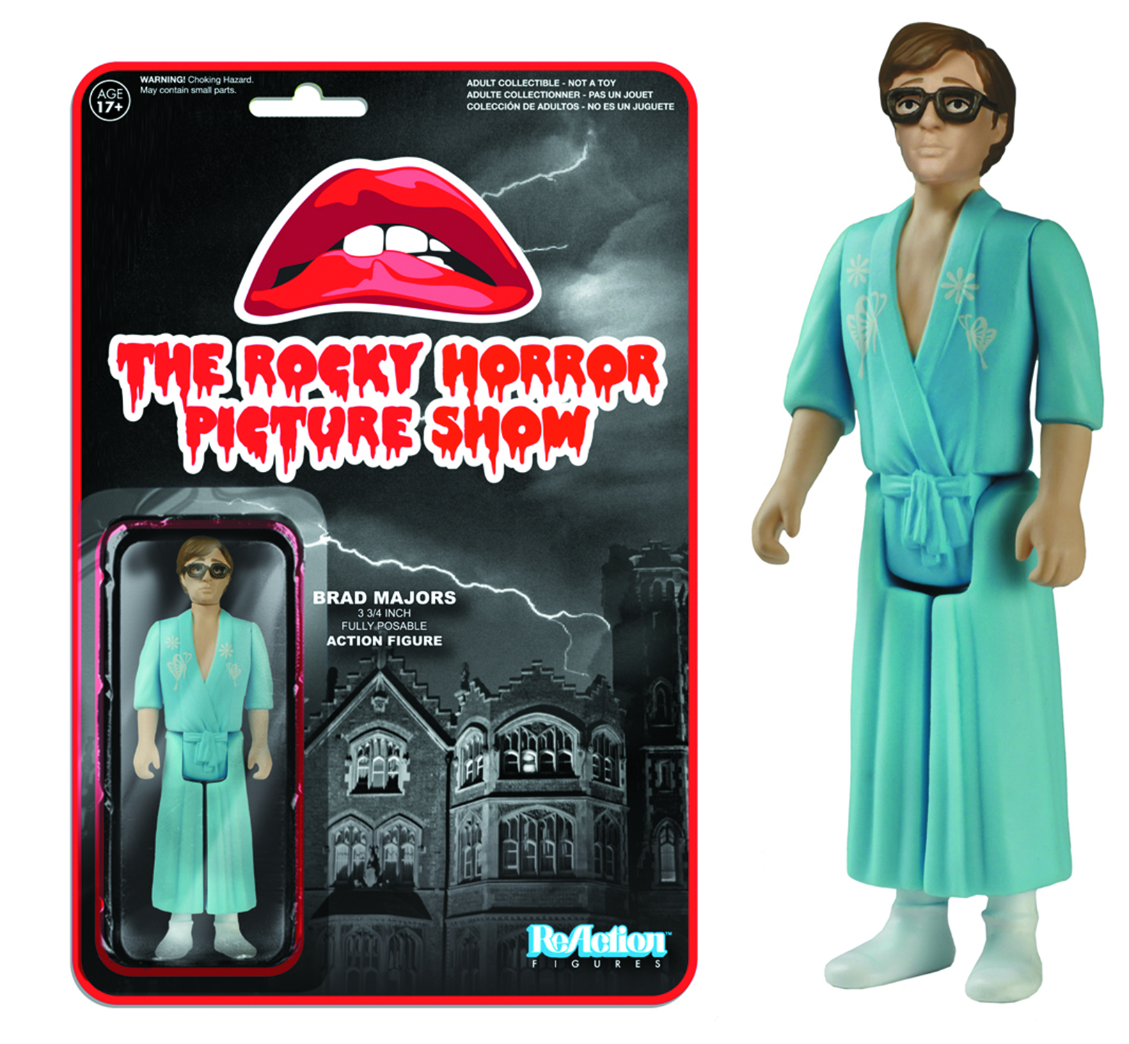 REACTION ROCKY HORROR BRAD MAJORS FIG