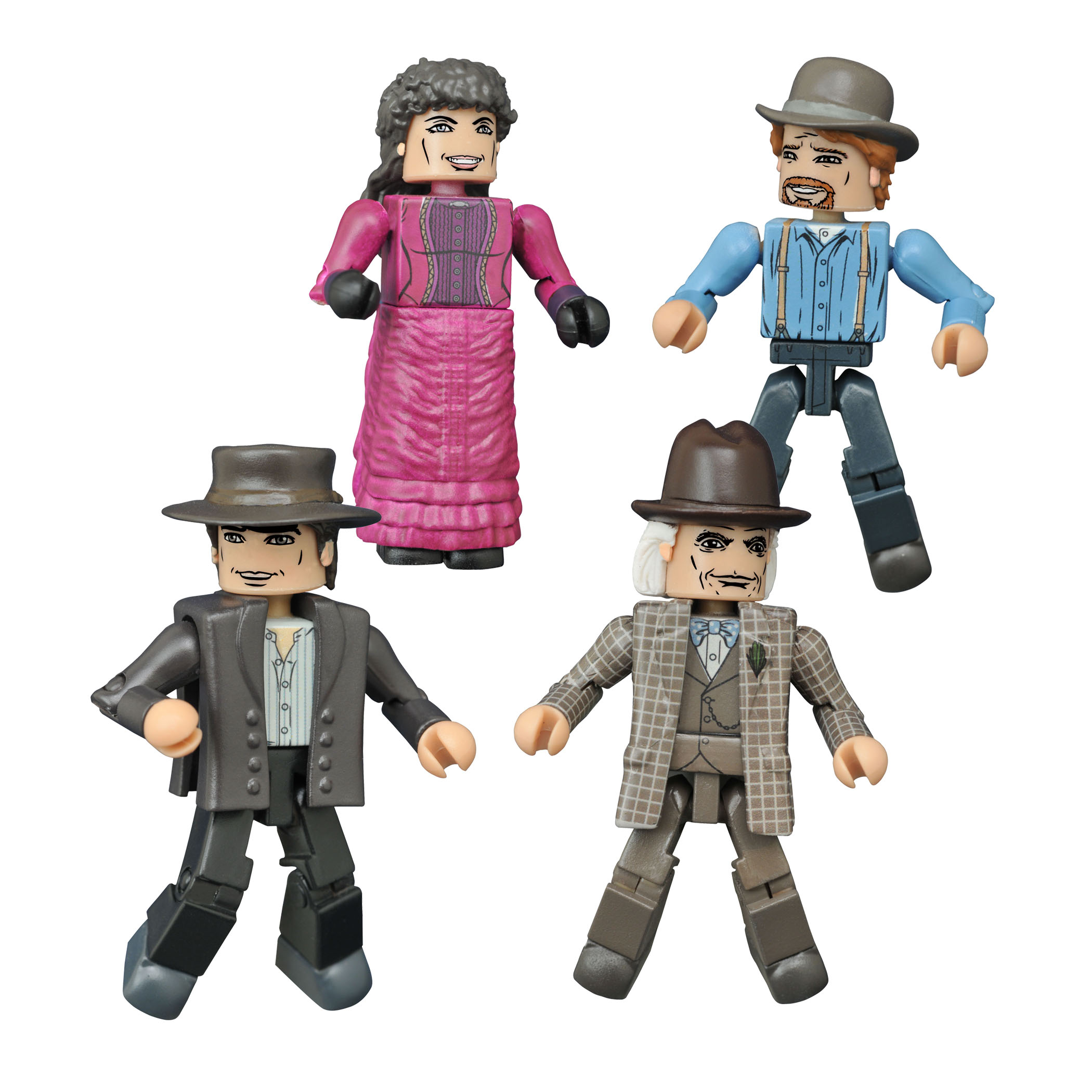 BTTF 30TH ANN MINIMATES 1885 BOX SET