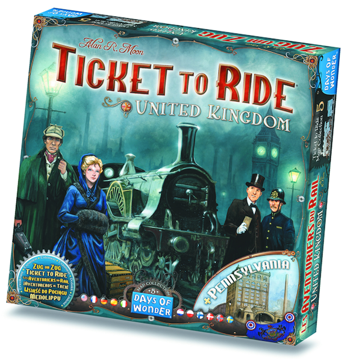 TICKET TO RIDE MAP COLLECTION 5 UNITED KINGDOM