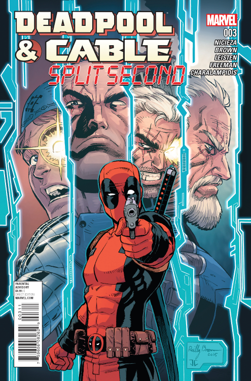 DEADPOOL AND CABLE SPLIT SECOND #3