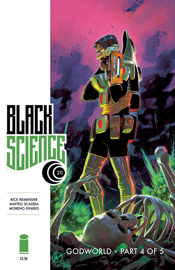 BLACK SCIENCE #20 (MR)