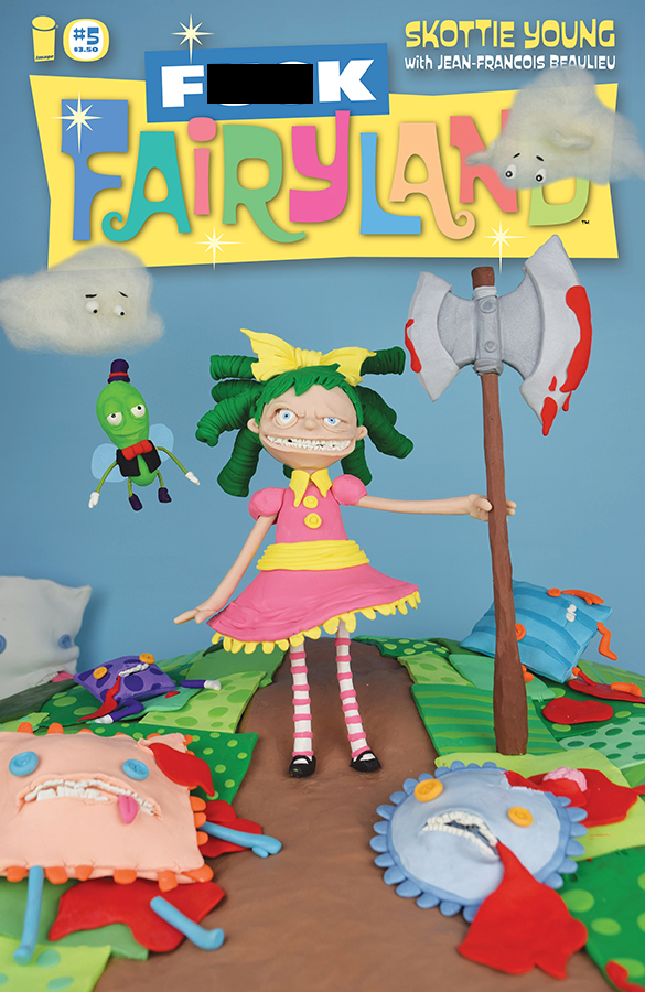 I HATE FAIRYLAND #5 F*CK (UNCENSORED) FAIRYLAND VAR