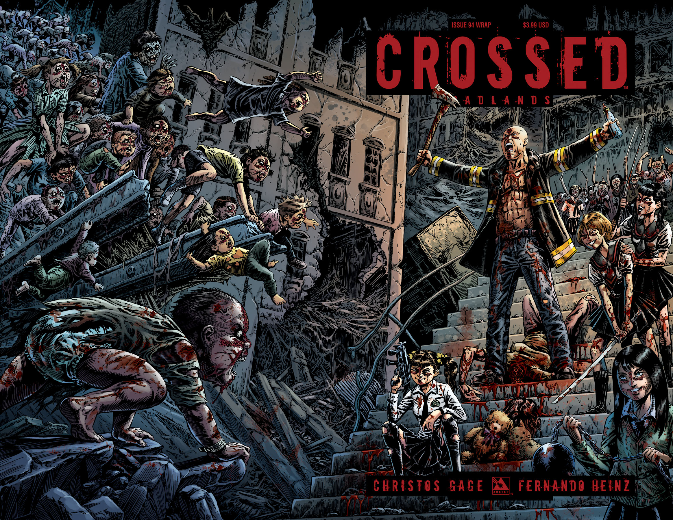 CROSSED BADLANDS #94 WRAP CVR (MR)