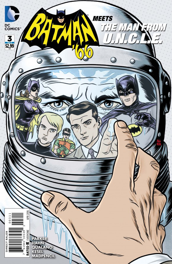 BATMAN 66 MEETS THE MAN FROM UNCLE #3 (OF 6)