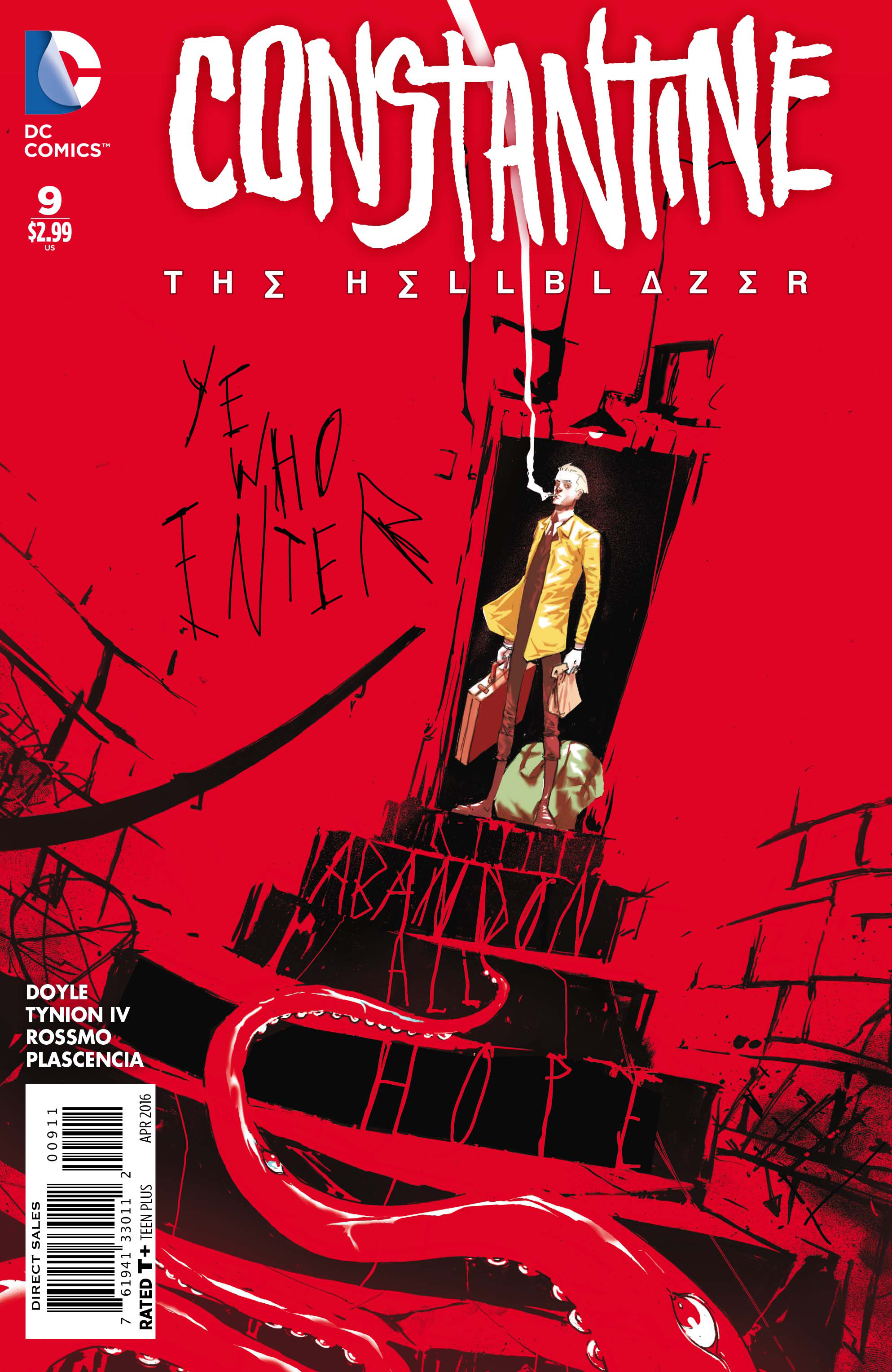 CONSTANTINE THE HELLBLAZER #9