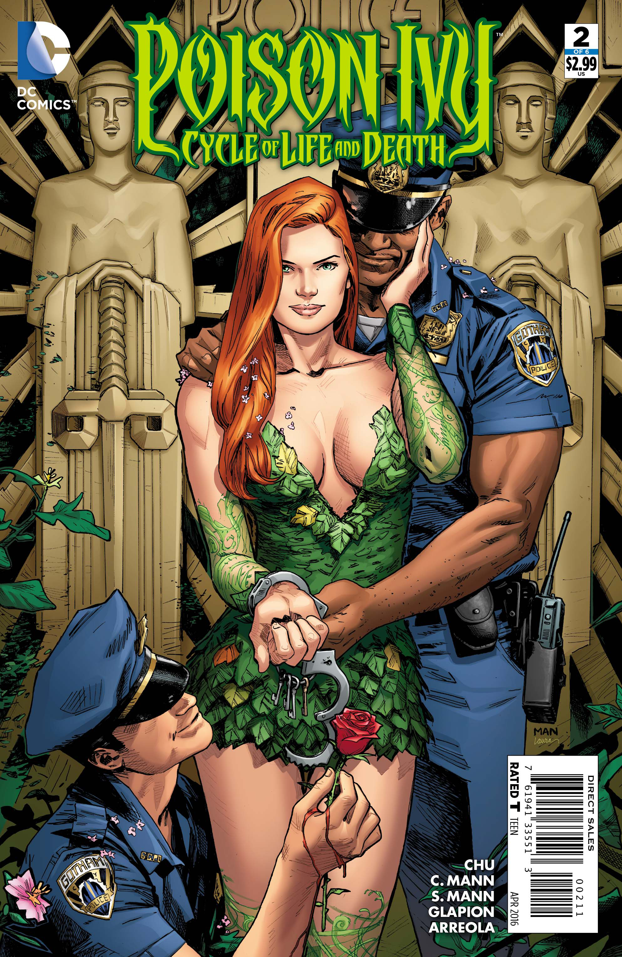 POISON IVY CYCLE OF LIFE AND DEATH #2