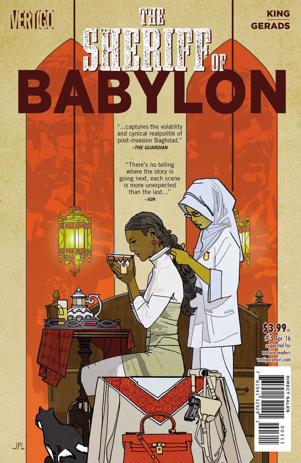 SHERIFF OF BABYLON #3 (OF 8)
