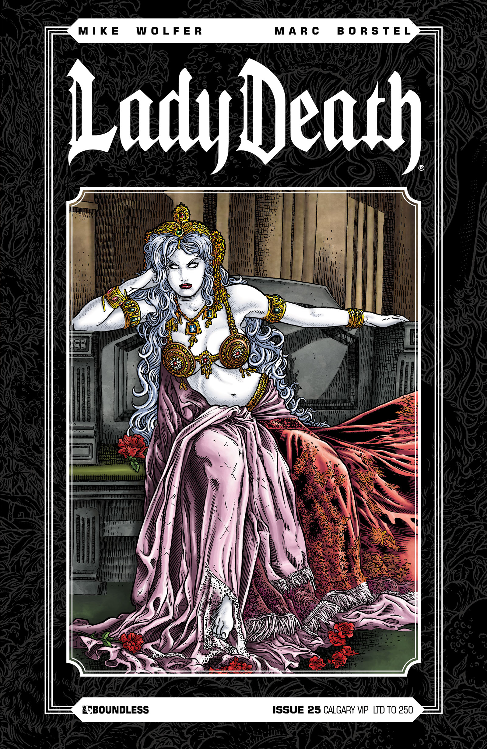 LADY DEATH (ONGOING) #25 CALGARY VIP CVR
