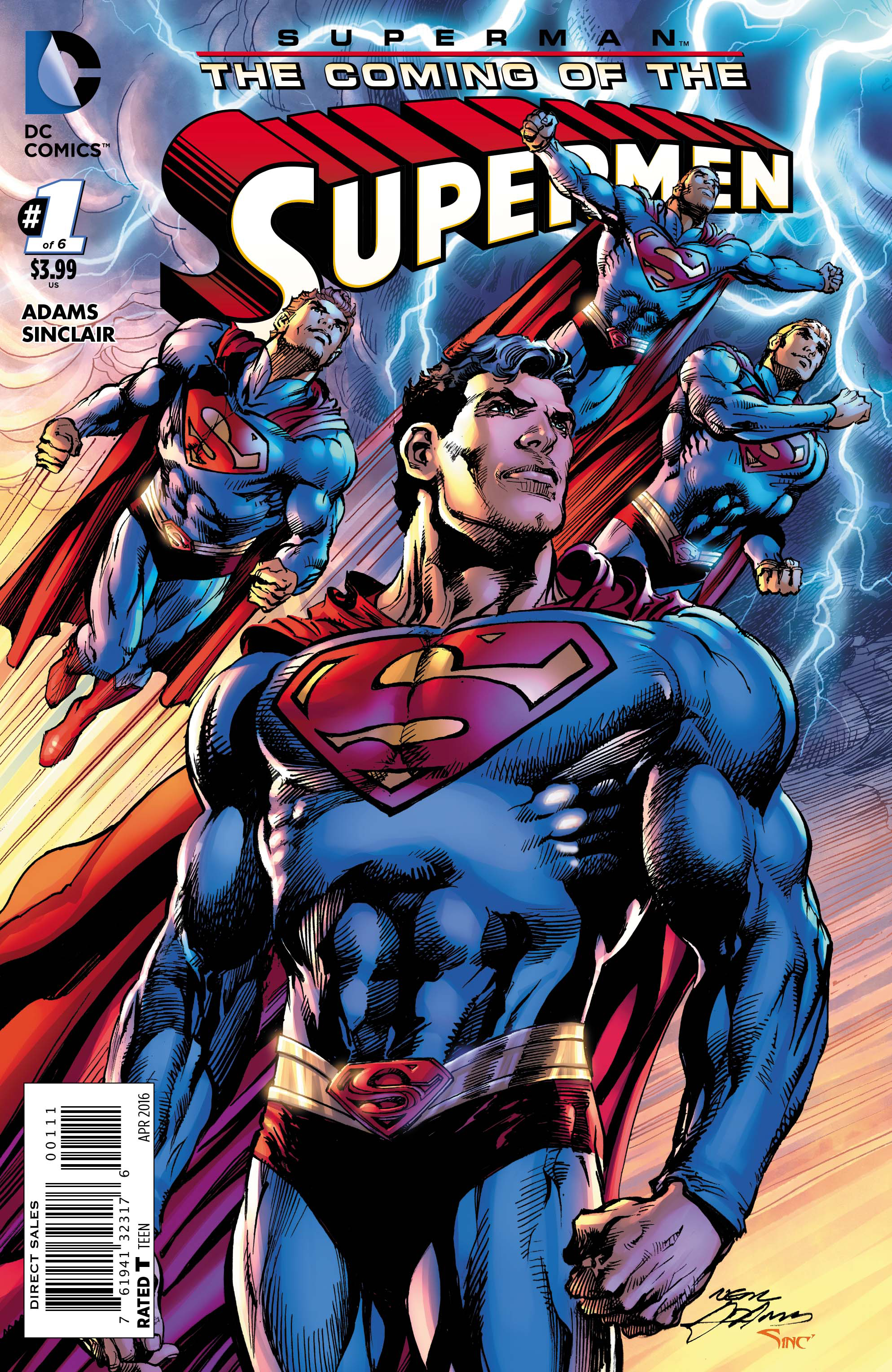 SUPERMAN THE COMING OF THE SUPERMEN #1
