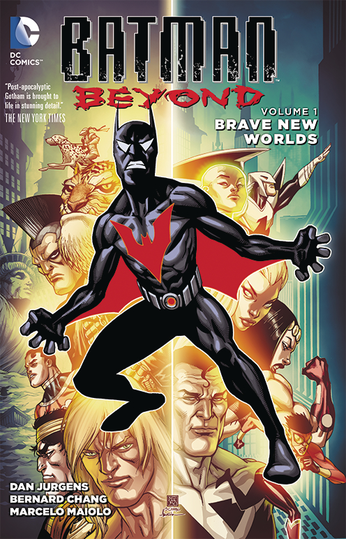 BATMAN BEYOND TP VOL 01 BRAVE NEW WORLDS