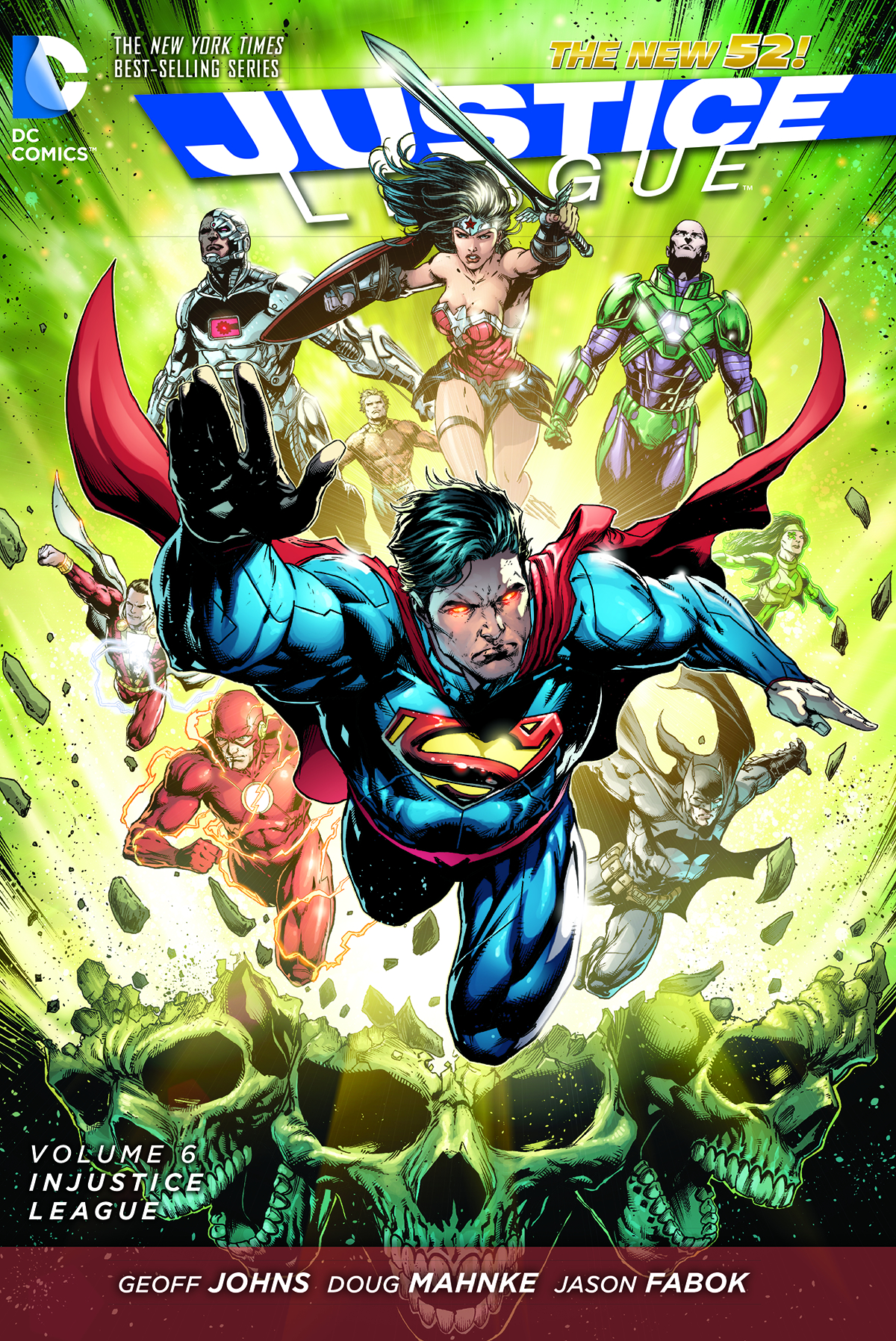 JUSTICE LEAGUE TP VOL 06 INJUSTICE LEAGUE