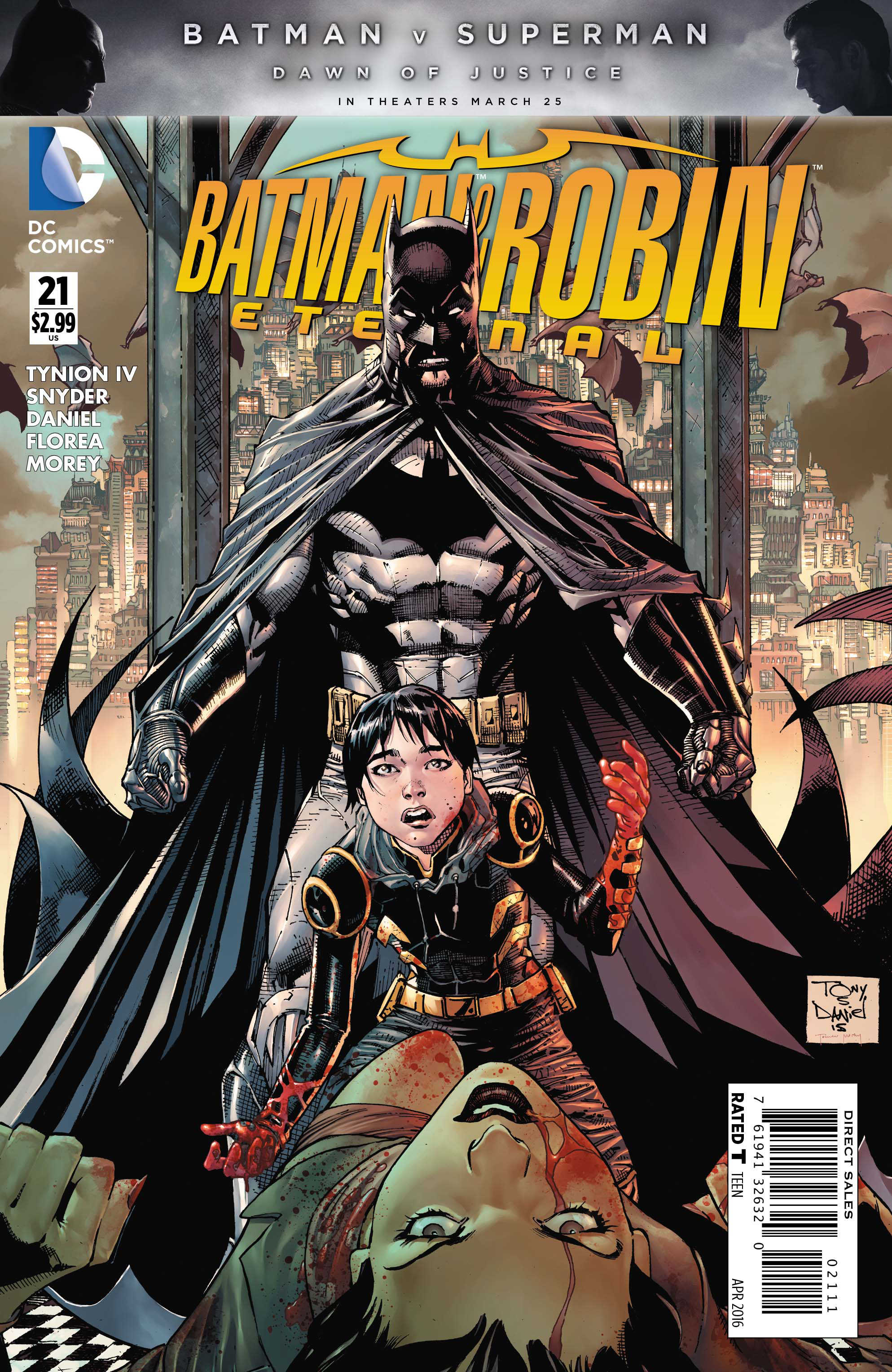BATMAN AND ROBIN ETERNAL #21
