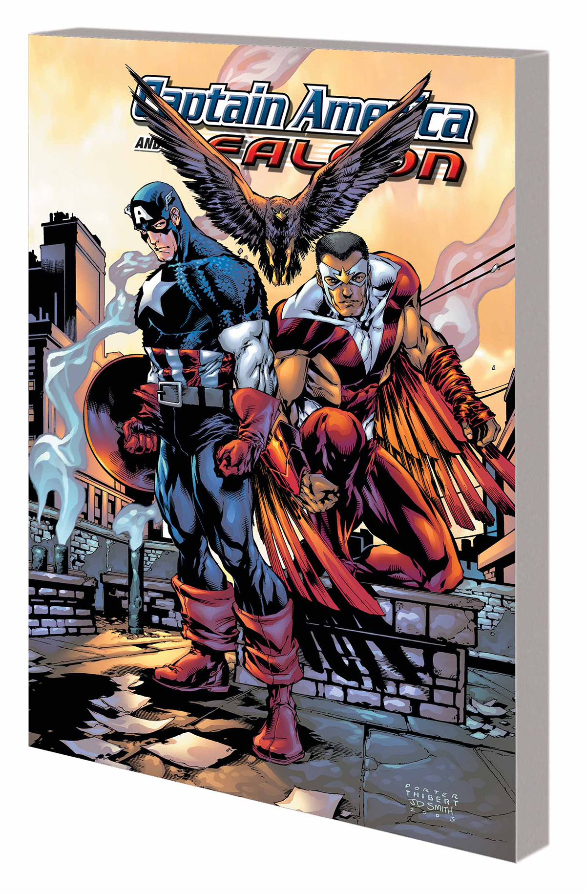 CAPTAIN AMERICA AND FALCON BY PRIEST TP COMP COLL