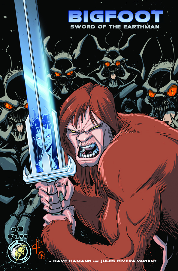 BIGFOOT SWORD OF THE EARTHMAN #3