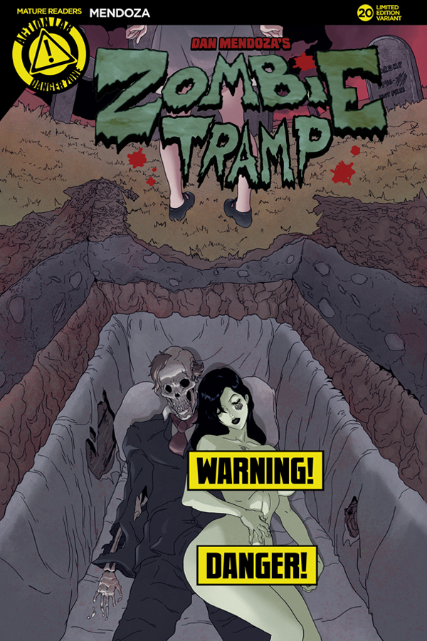 ZOMBIE TRAMP ONGOING #20 CVR D TMCHU RISQUE (MR)
