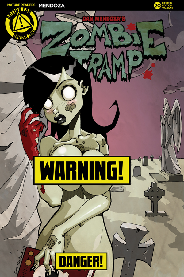 ZOMBIE TRAMP ONGOING #20 CVR B MENDOZA RISQUE