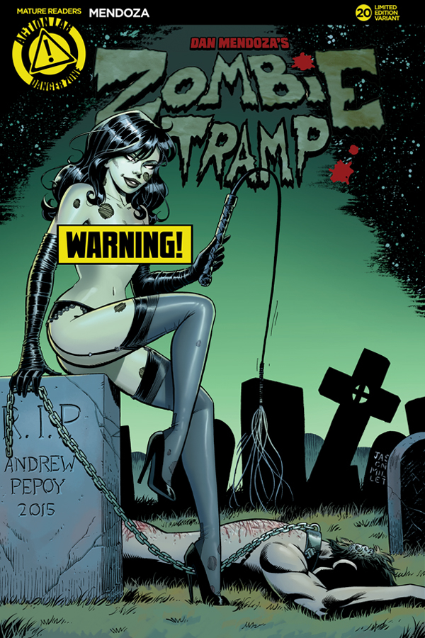 ZOMBIE TRAMP ONGOING #20 CVR F PEPOY RISQUE (MR)