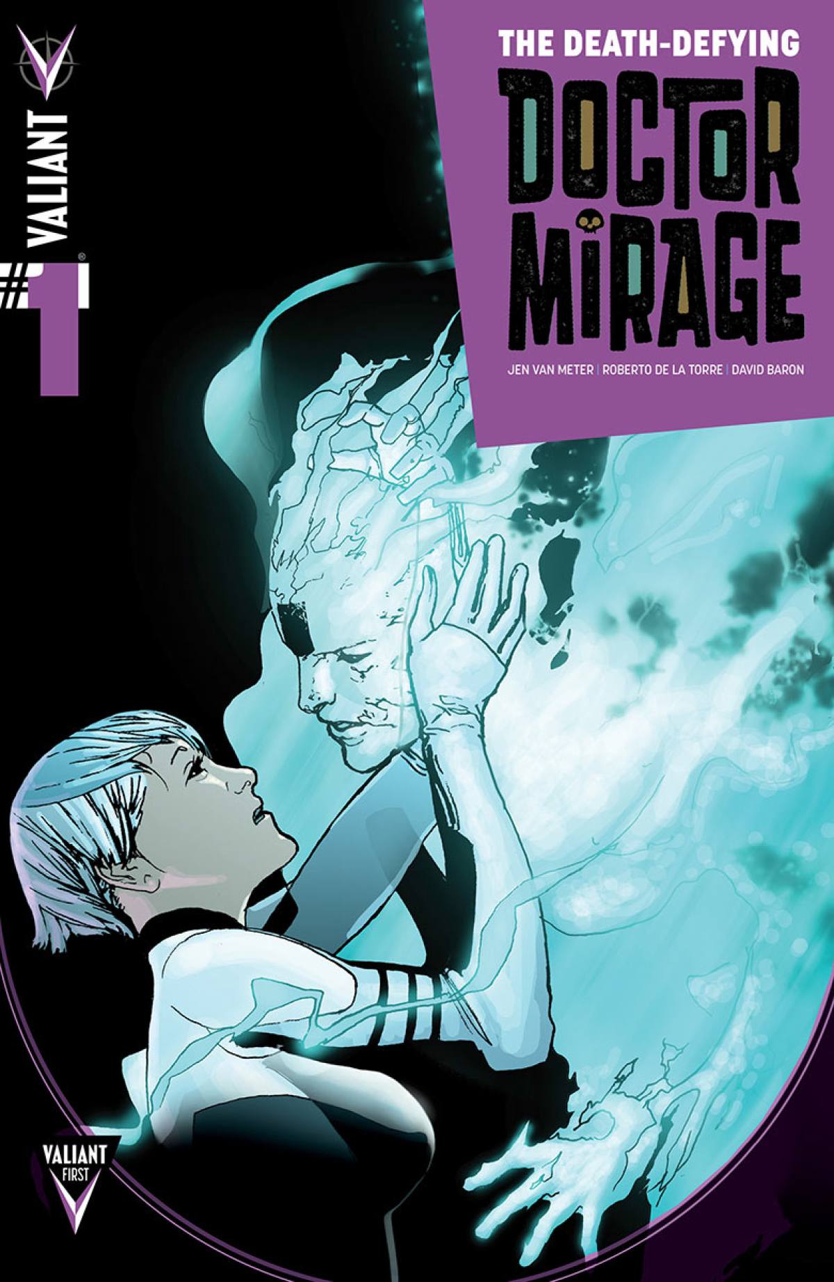 DEATH DEFYING DR MIRAGE #1