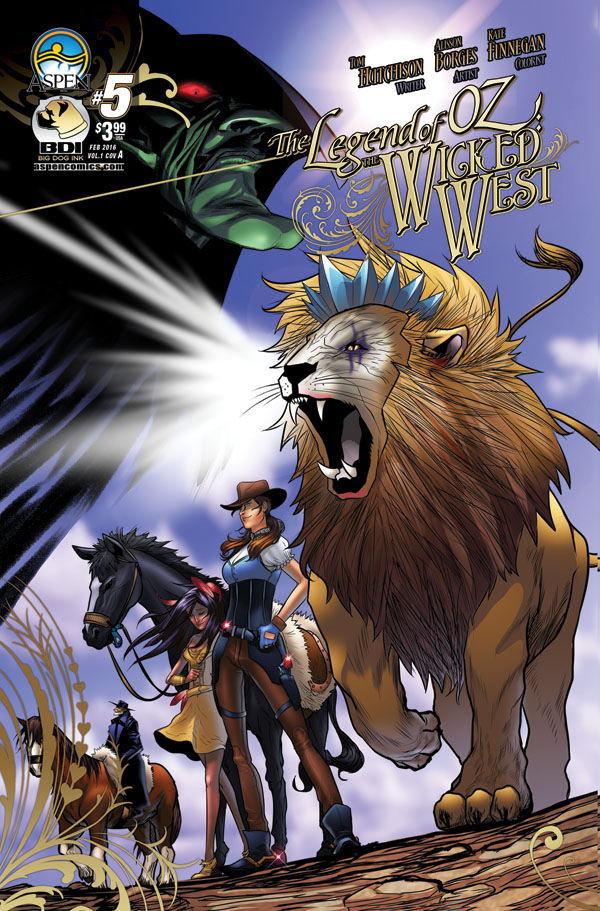 LEGEND OF OZ WICKED WEST #5 CVR A BORGES