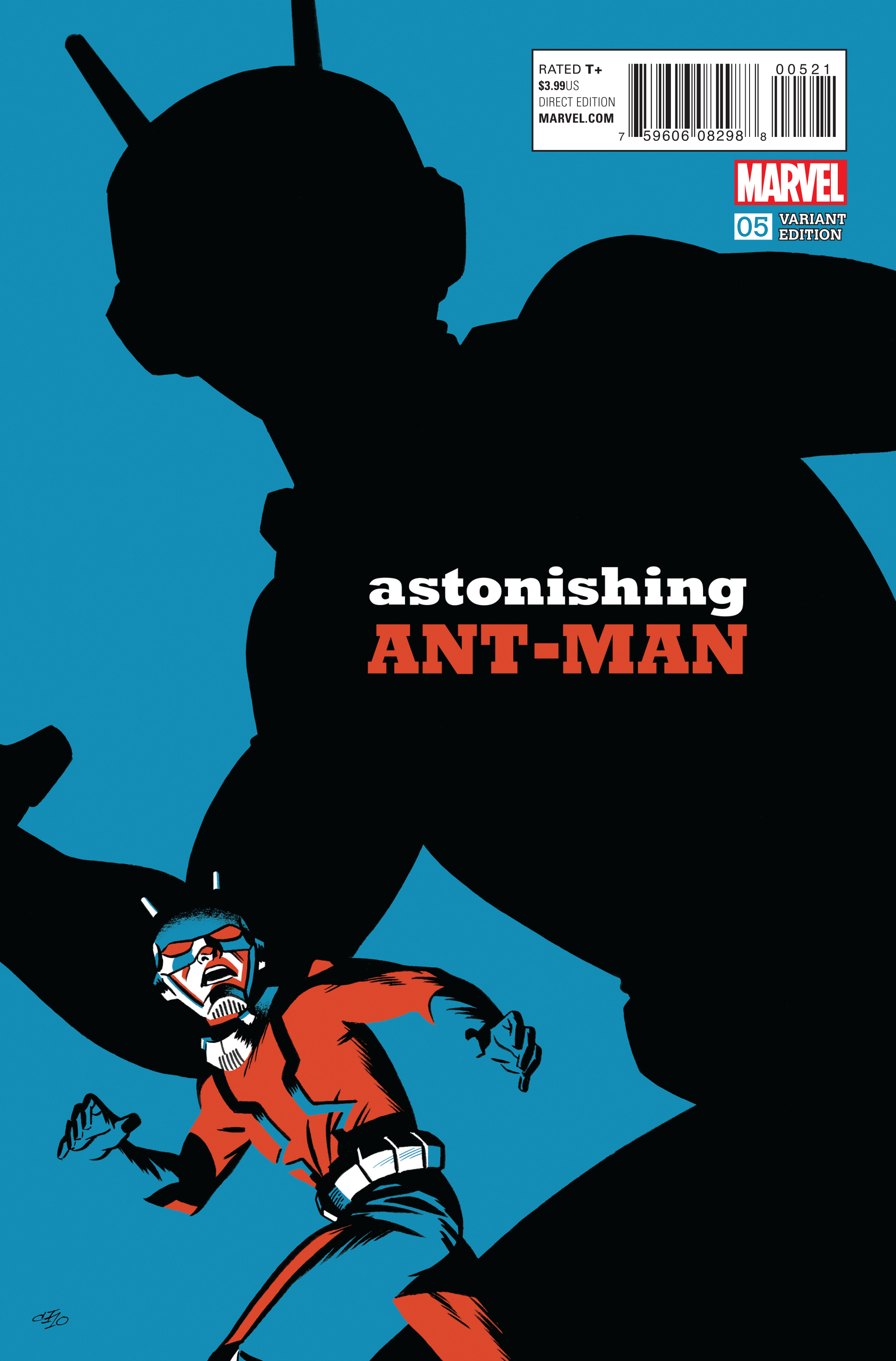 ASTONISHING ANT-MAN #5 CHO VAR