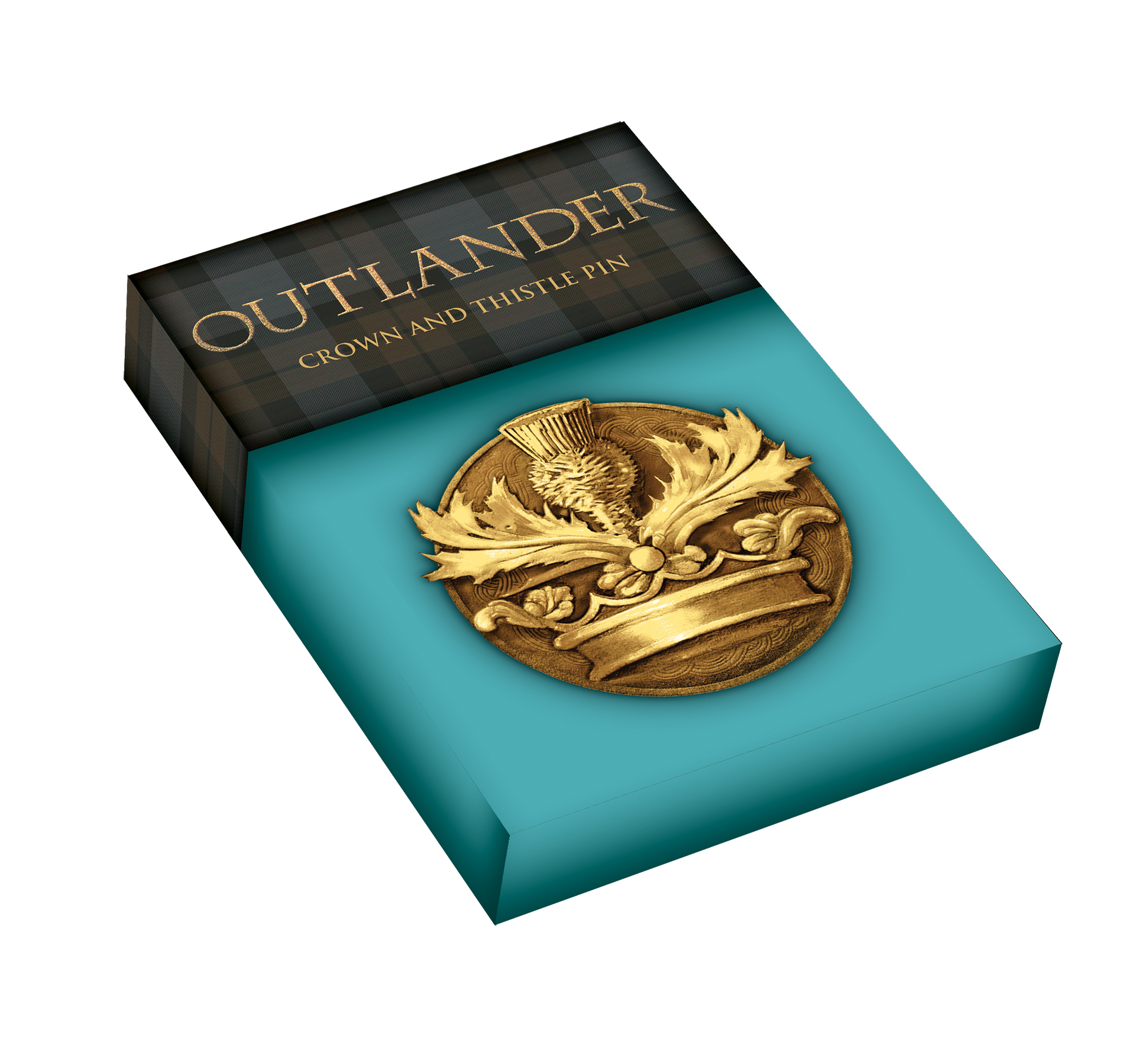 OUTLANDER PIN CROWN & THISTLE