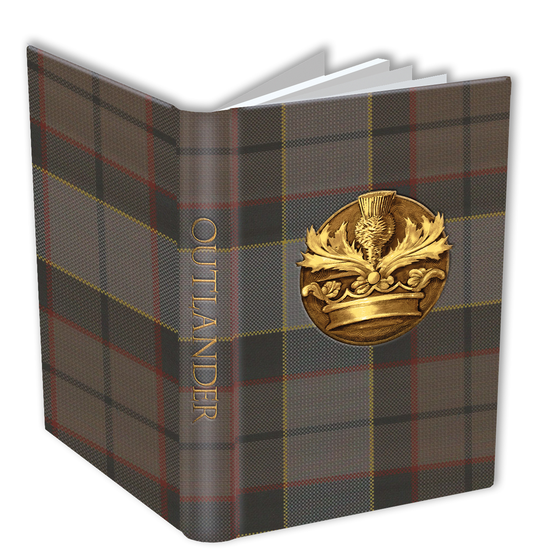 OUTLANDER JOURNAL CROWN & THISTLE
