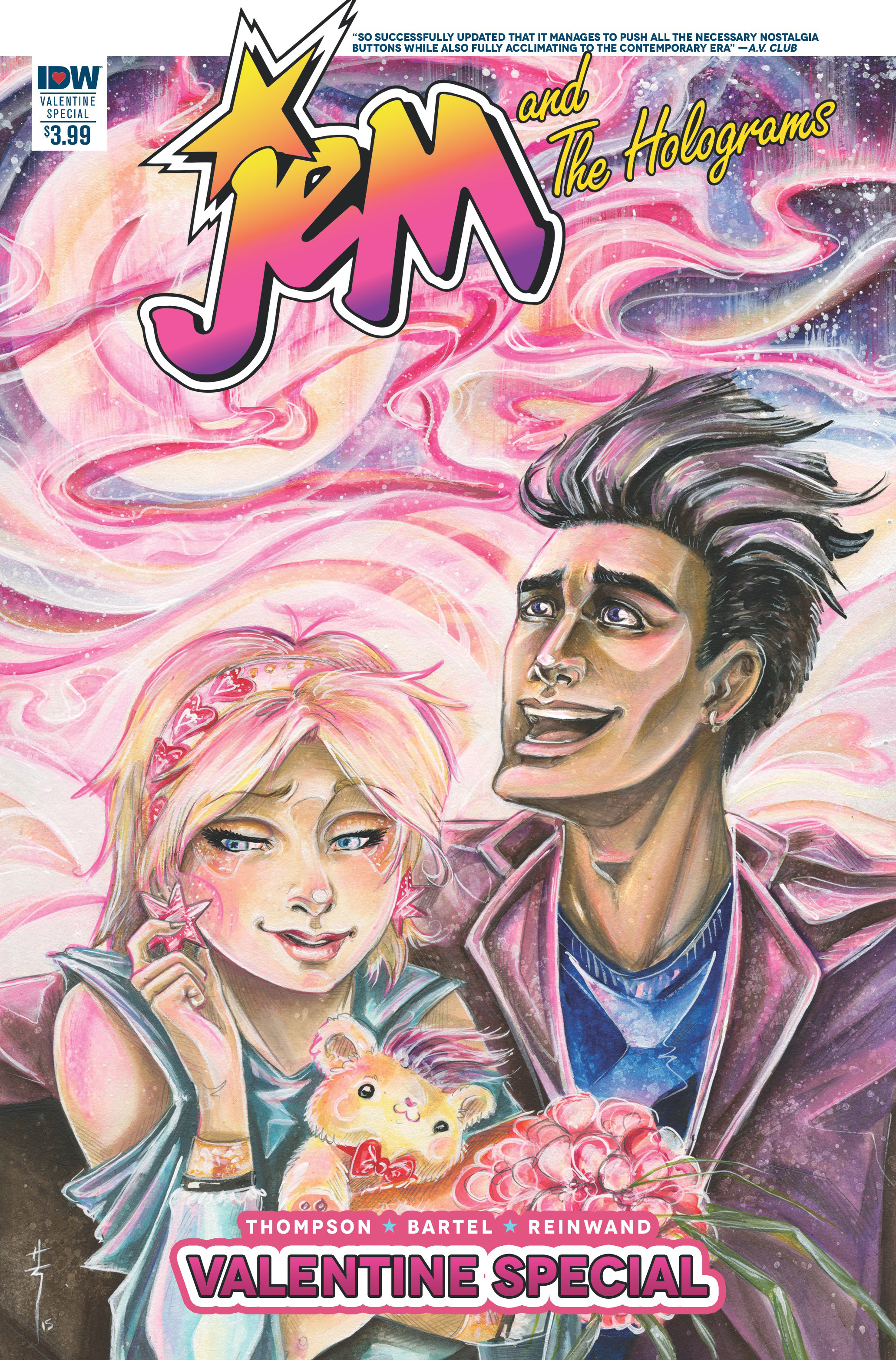 JEM & THE HOLOGRAMS VALENTINES DAY SPEC 2016