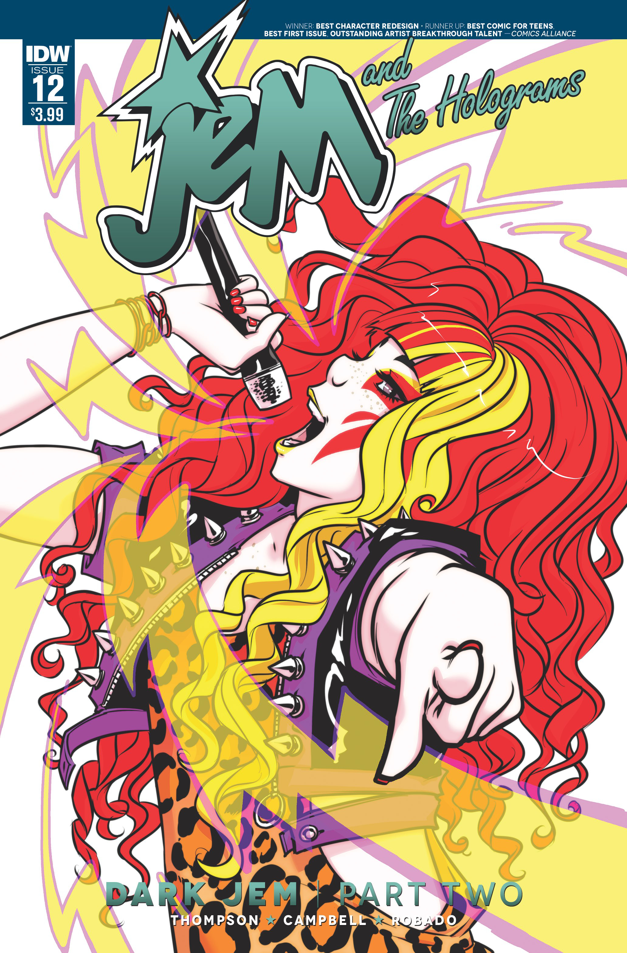 JEM & THE HOLOGRAMS #12