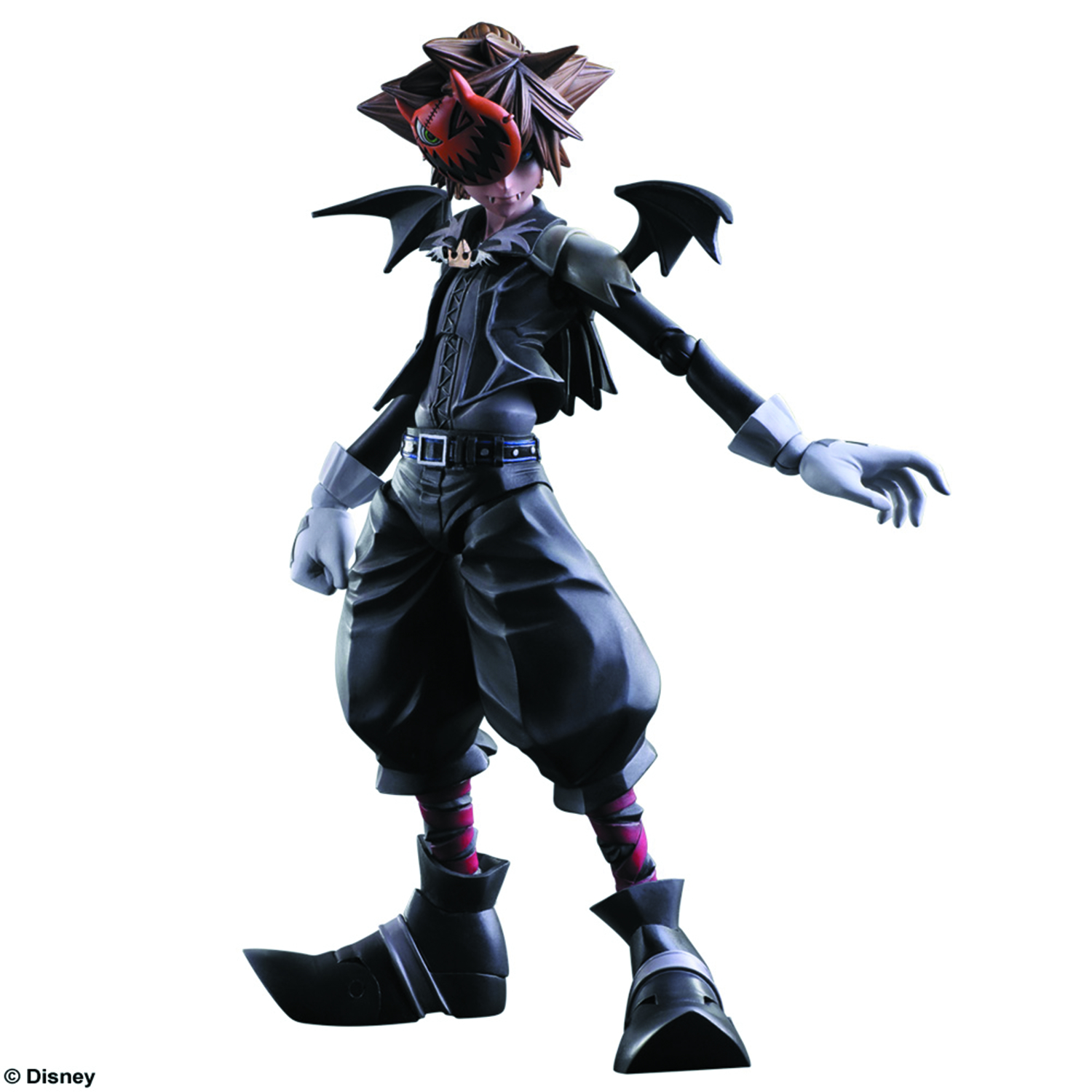 Play Arts Kai Kingdom Hearts Ii Halloween Town Sora