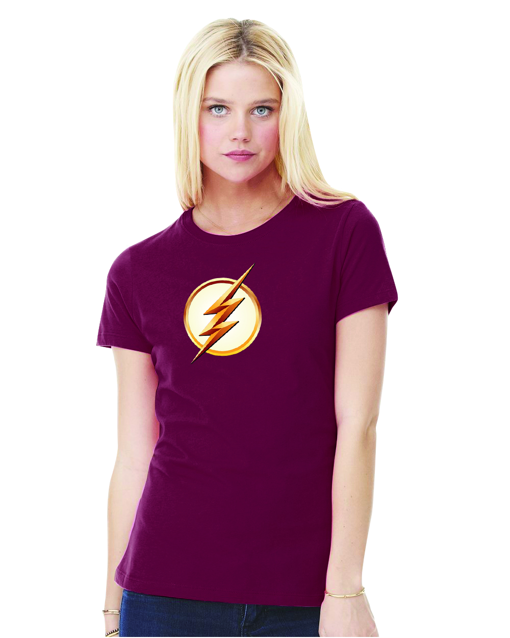 FLASH TV SYMBOL SEASON 2 WOMENS T/S XL