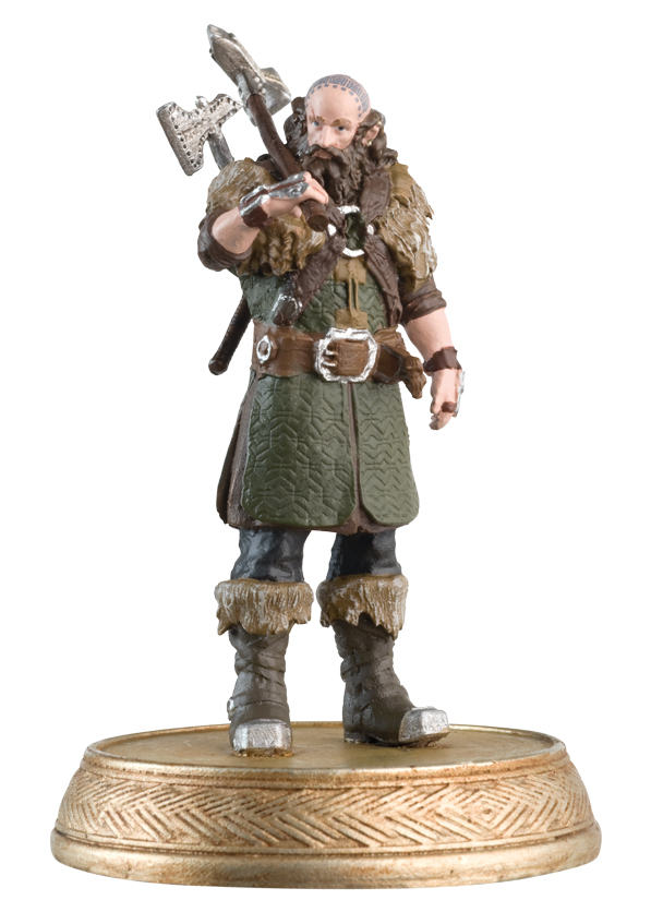 HOBBIT MOTION PICTURE FIG MAG #11 DWALIN THE DWARF