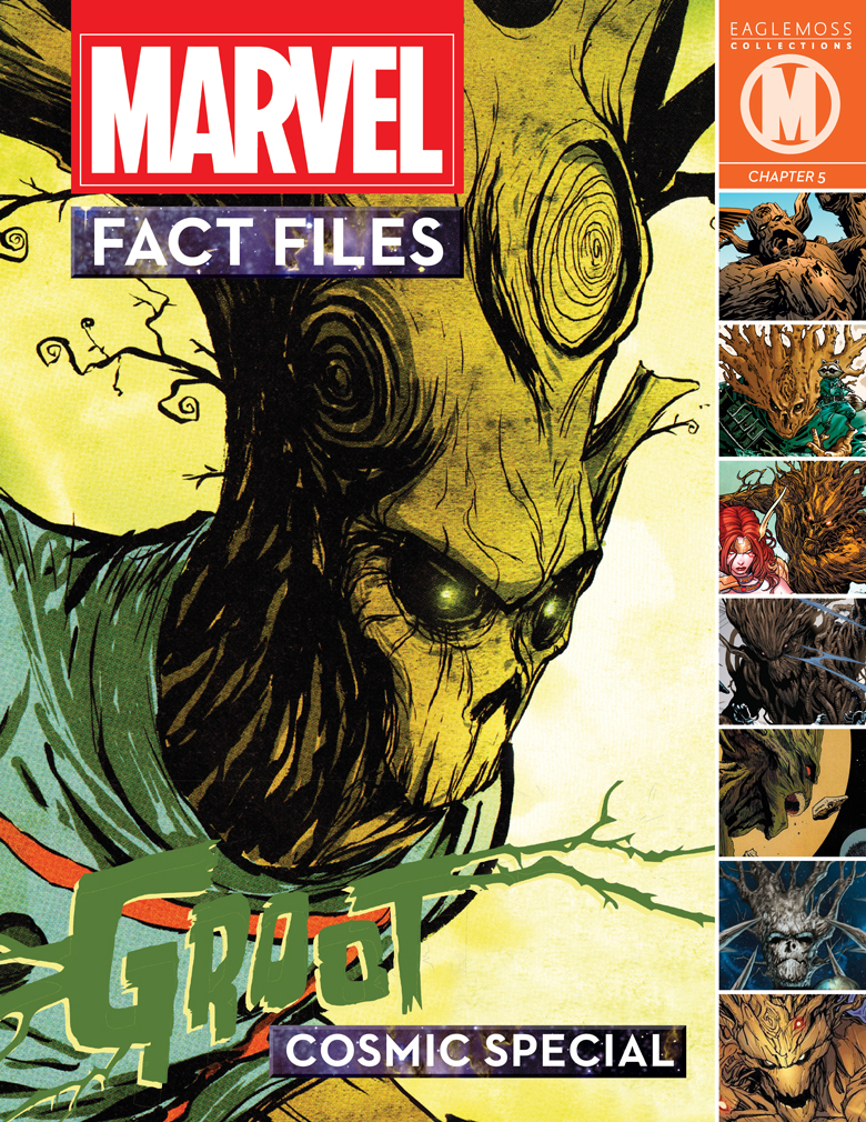 MARVEL FACT FILES COSMIC SPECIAL #5 GROOT