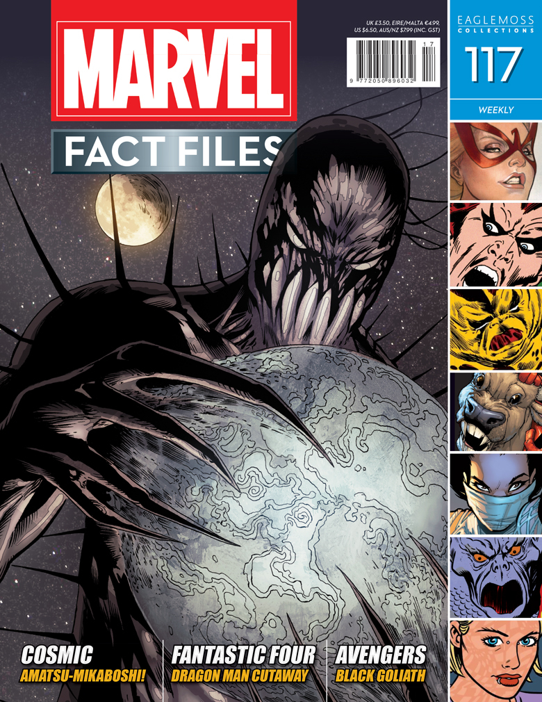 MARVEL FACT FILES #117